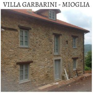 VILLA GARBARINI MIOGLIA Falegnameria Artigiana di Assandri Oreste & Figli