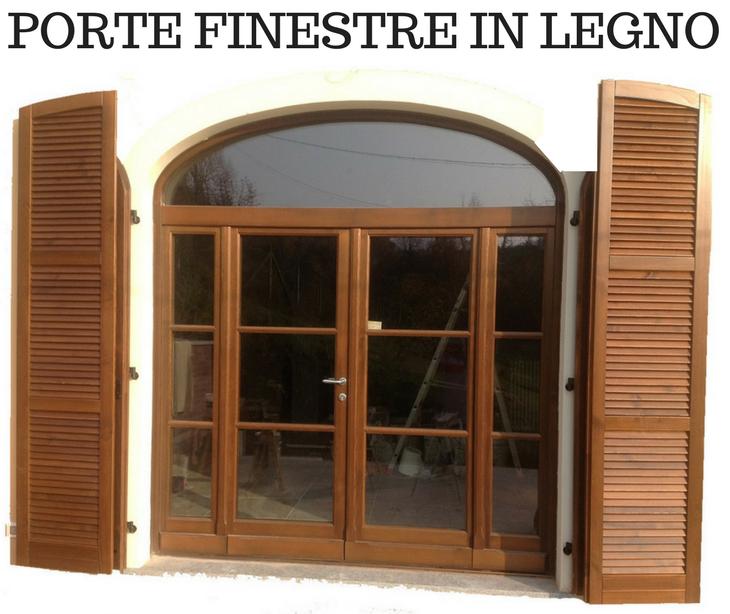 Porte finestre in legno assandri oreste figli s n c - Porte finestre legno ...